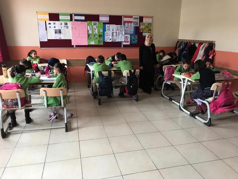 Okulumuz 4c Sınıfı öğrencileri Grup çalışmasıyla çanakkale
