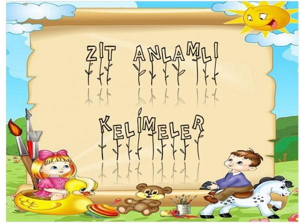 Okulumuz 3 A Sinifi Zit Anlamli Kelimeler Tombala Oyunu Oynadi