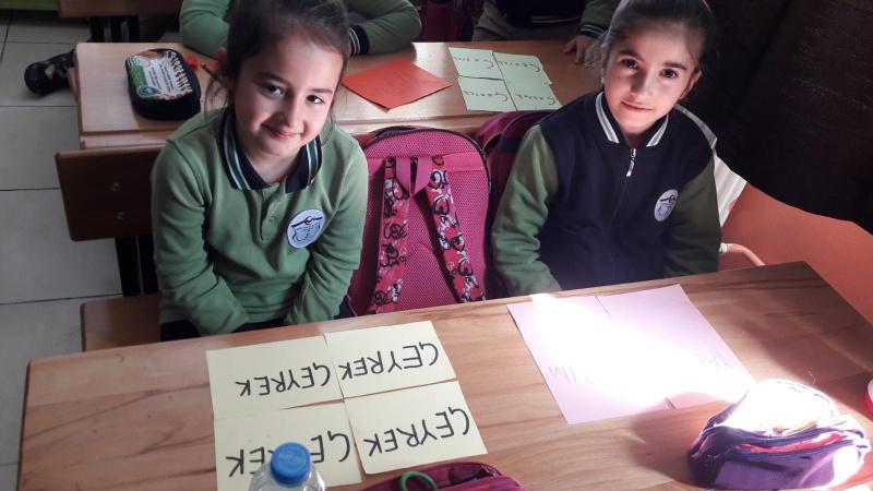 Okulumuz 2 B Sinifi Ogrencileri Matematik Dersi Kapsaminda Butun