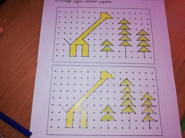 Okulumuz 2 A Sinifi Ogrencileri Simetri Etkinligi Yapti Sehit